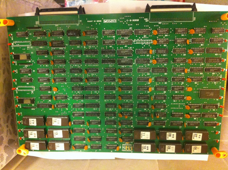 [ Pcb CAPCOM ] Pre-cps - CPS1 - CPS Q-Sound - Page 2 530989IMG06851