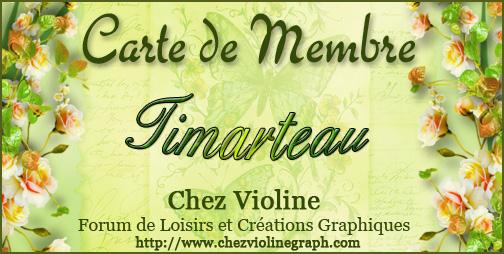 Carte de membre 531155Timarteau