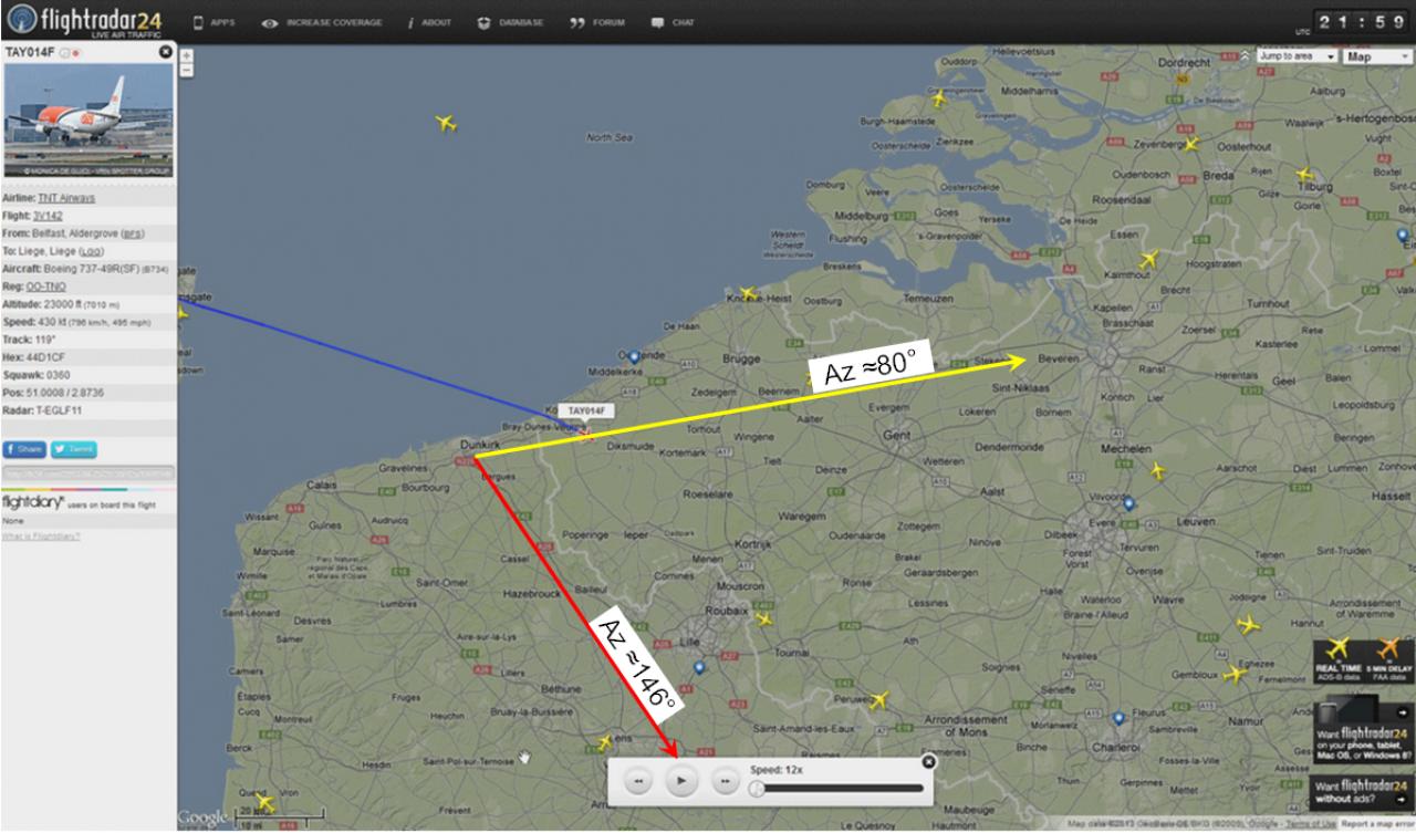 2013: le 26/04Lumière étrange dans le ciel  - Dunkerque (France)  531509ClaudeT5