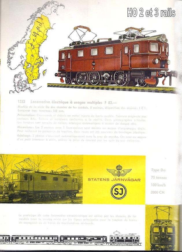 Les machines D/Da/Dm/Dm3 (base 1C1) des chemins de fer suèdois (SJ) 531721Fleishmanncataloque1963p26R