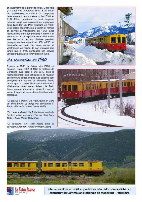 Fiches documentaires UAICF sur motrice train jaune 532865tj10Page2