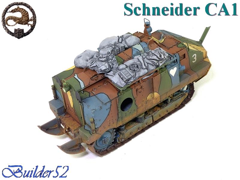 CHAR SCHNEIDER CA 1 - HOBBY BOSS 1/35 533742P1040968