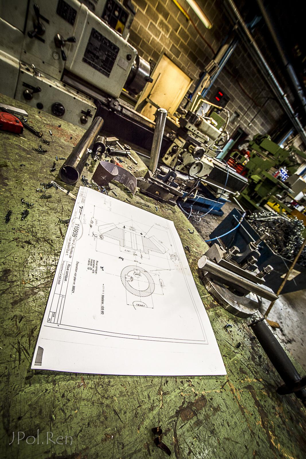 L'atelier de mécanique. 533816GD27ime39038