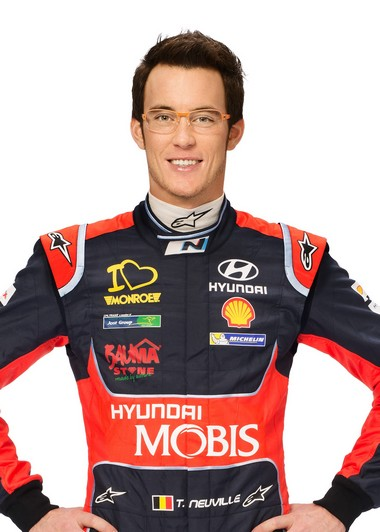 Hyundai Motorsport présente la nouvelle i20 WRC et son team 534351ThierryNeuvilleportrait