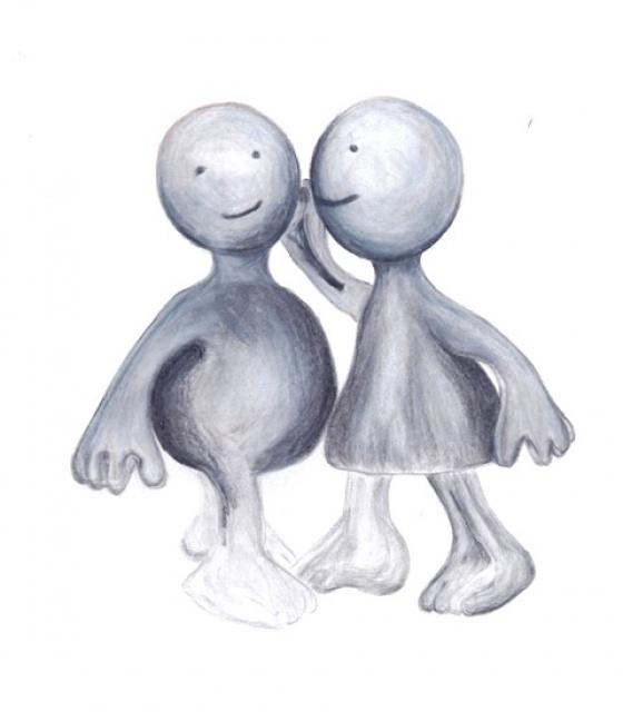 2 Statuettes amoureuses (terminé) 535080color01