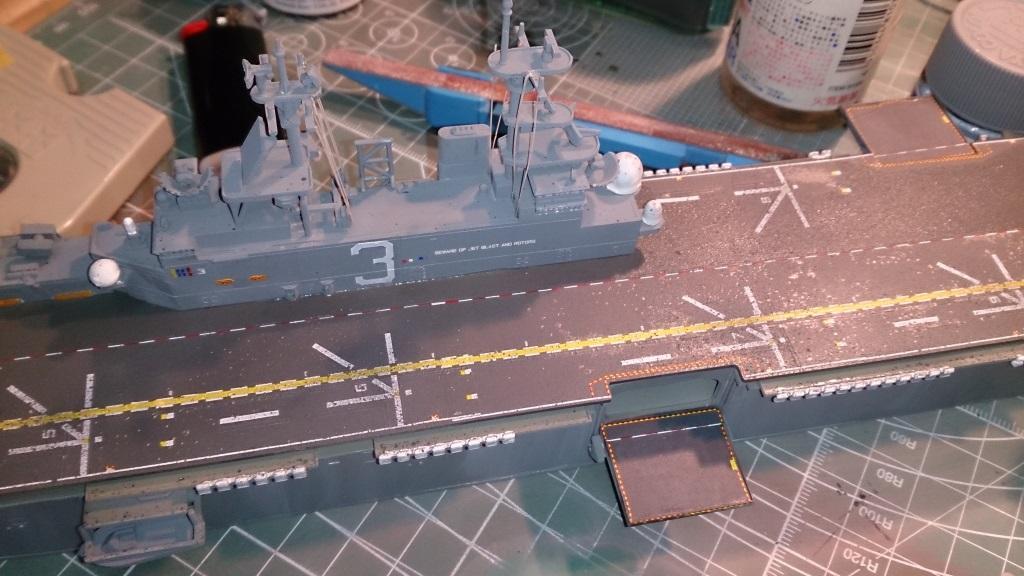 USS KEARSARGE LHD-3 1/700 REVELL 535407Kearsarge38