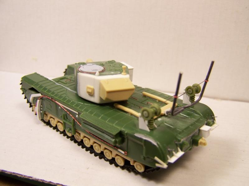 """Churchill  AVRE mk4 """"Pétard""""  535803ChurchillptardAVRE005"""