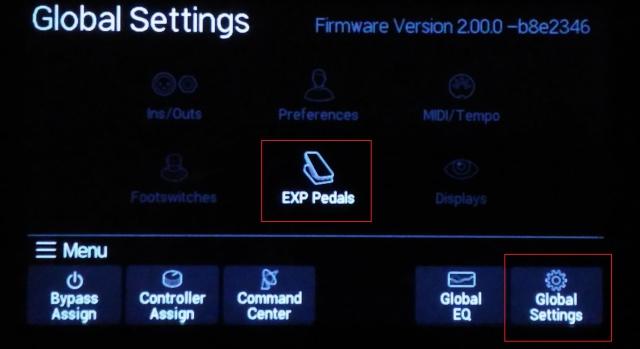Aide pour le paramètrage de pédale d'expression externe type Roland EV5 536563P20160709192159
