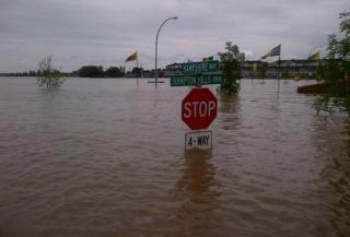 Innondation, alberta, canada 5372096highriver