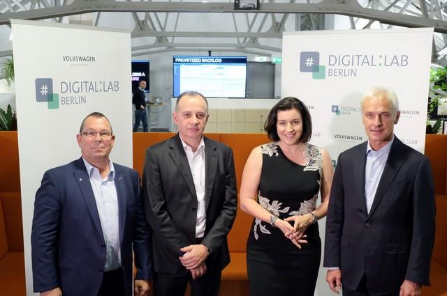 Renforcement des compétences informatiques du Groupe Volkswagen : inauguration d'un laboratoire digital à Berlin 537220hddb2016al01563large