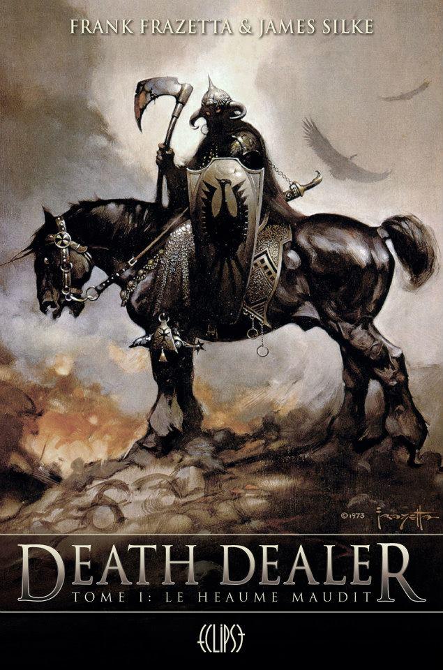 """[Eclipse] Tétralogie """"Death Dealer"""" par Frank Frazetta & James Silke 537405DeathDealerT1"""