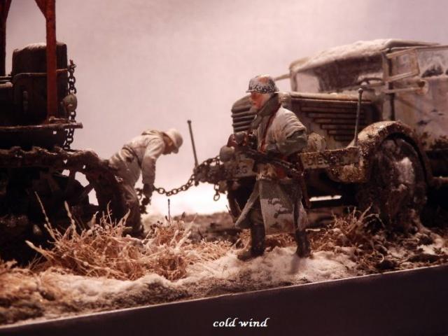 tracteur d artillerie soviétique chtz s-65 version allemande 1/35 trumpeter,tirant 2 blitz de la boue - Page 5 537769PA190042