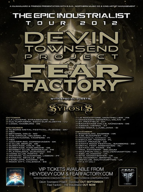 10.12 - Devin Townsend + Fear Factory + Dagoba @ Paris 538083DTFF