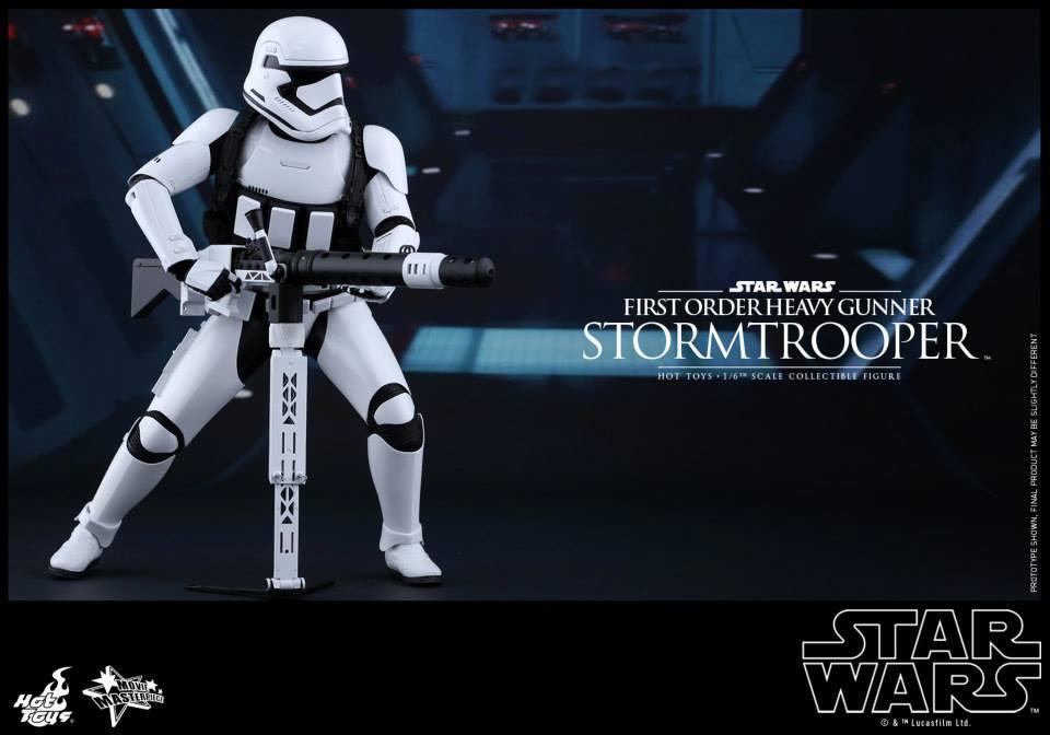 HOT TOYS - SW7: TFA - First Order Heavy Gunner Stormtrooper 538506111