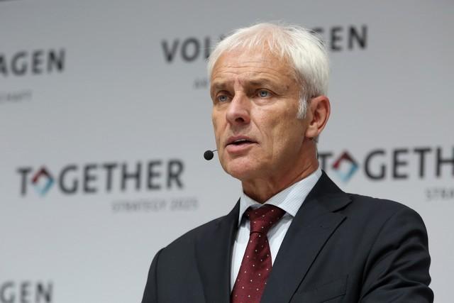 Une Nouvelle stratégie du Groupe adoptée : le Groupe Volkswagen compte devenir le leader mondial de la mobilité durable  538852hdmatthiasmuller2