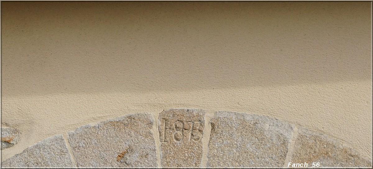 Fil ouvert-  Dates sur façades. Année 1602 par Fanch 56, dépassée par 1399 - 1400 de Jocelyn - Page 2 540600dateplouhinec1873