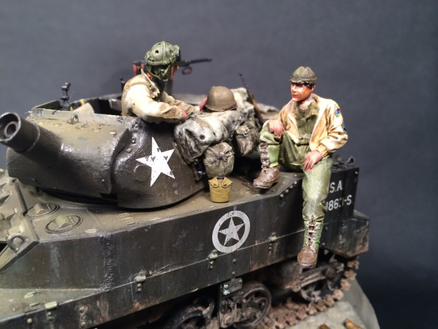 """Le laxatif"" - M8 Howitzer unité ""Hell on Wheels"" - 2nd Armored division, Normandie - Tamiya 1/35 541308IMG3483"