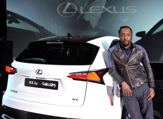 Un Lexus Déssiné Par WILL.I.AM Révélé Lors D'une Soirée Exclusive à Paris 541665LexusNX8