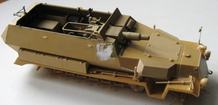 Sd.Kfz 251/9 Ausf.C - AFV CLUB - 1/35 542430modles126004