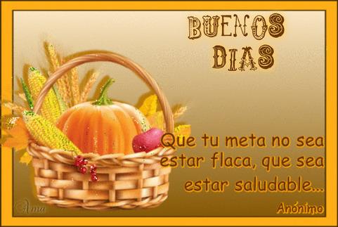 Canasta Saludable con Frase 542587dias