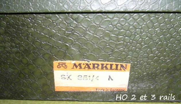 Coffrets Märklin 1936 - 1968 (rouges, noirs, verts ou bleus) 542968MarklincoffretSK8514crocoR