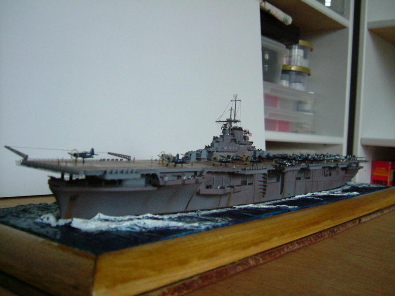 CV-9 USS ESSEX par Kagou 1/700 - Hasegawa + photodec 543718EssexCV95
