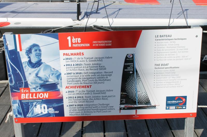 Visite du village et du ponton du Vendée Globe le 25/10/16 545106IMG4497