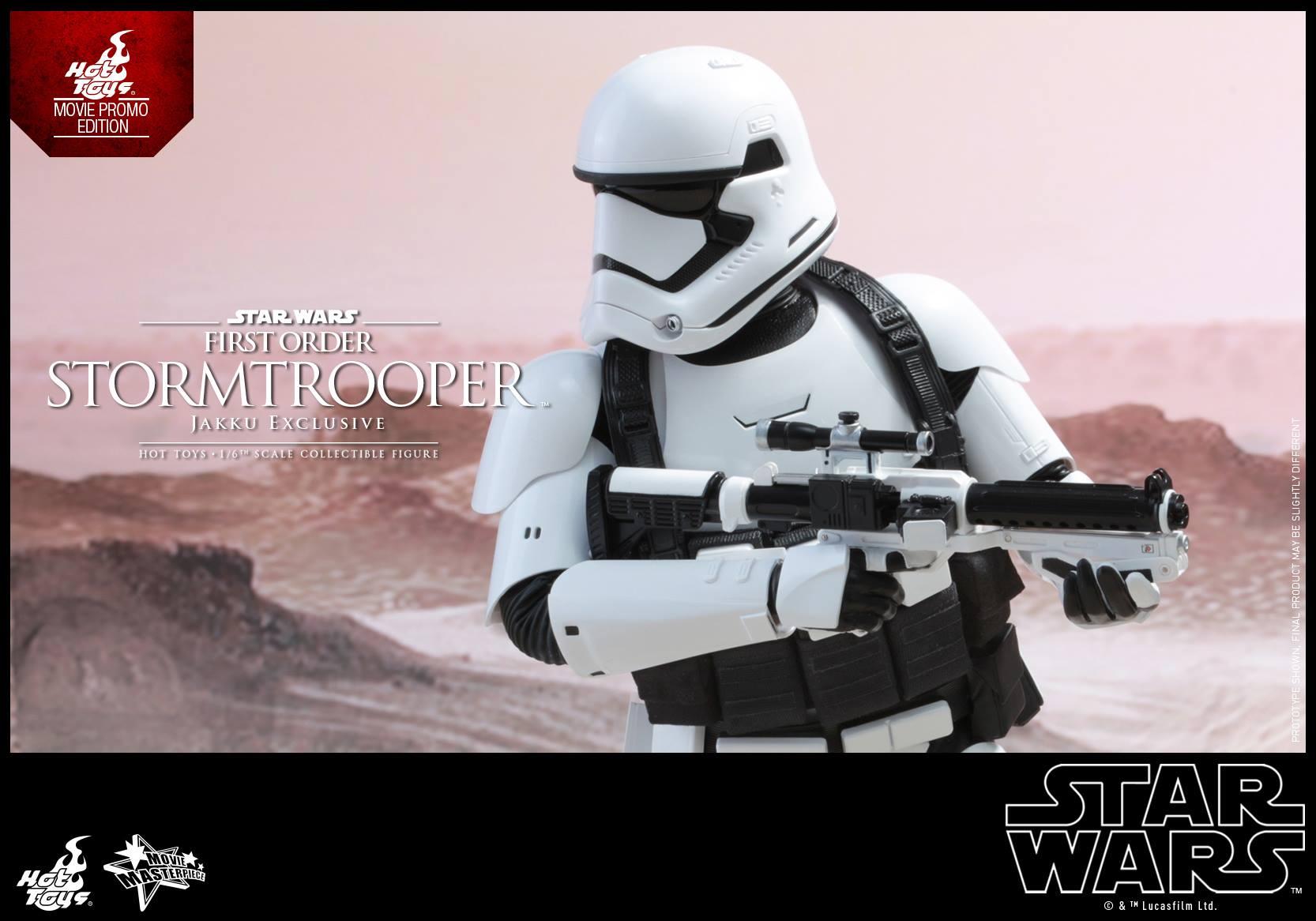 HOT TOYS - Star Wars: TFA - First Order Stormtrooper Jakku  546679107