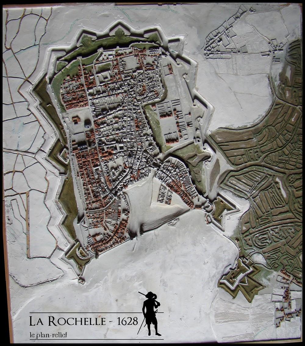 // La Rochelle 1628 // Le plan-relief // 5474932Dec121reduiteencore