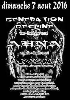 [Baluet - Ariege (09) - 07-08-2016] GENERATION DECLINE + AHNA + ANSÏA 548084affiche07081620ko