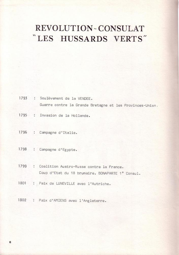 L'épopée Napoléonienne du 8 ème Régiment de Hussards  548433Historique8RHN06