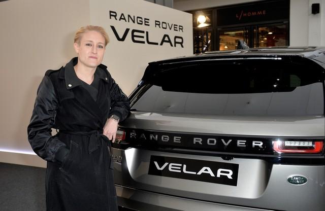 Le Range Rover Velar s'est dévoilé sur les toits de Paris 548689corpo0011