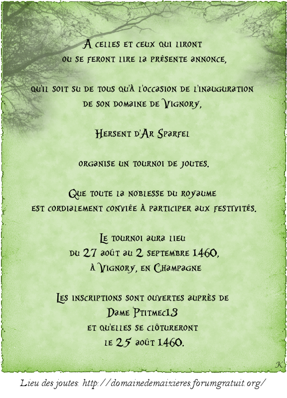 De la Hérauderie Royale - Page 4 548975joutesHersent