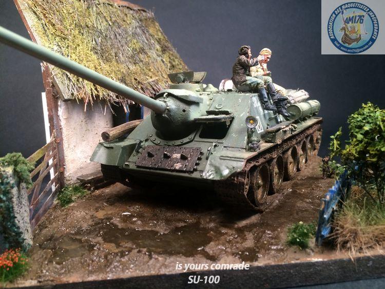 SU-100 marque Dragon 1/35 - Page 3 549524IMG4096