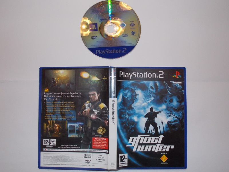 Ghost Hunter 550527Playstation2GhostHunterBlue