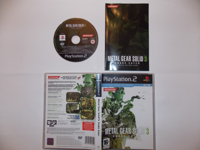 Metal Gear Solid 3 : Snake Eater 550878Playstation2MetalGear3