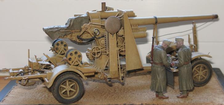 Flak18 88mm  AFV Club 1/35 552624modles125023