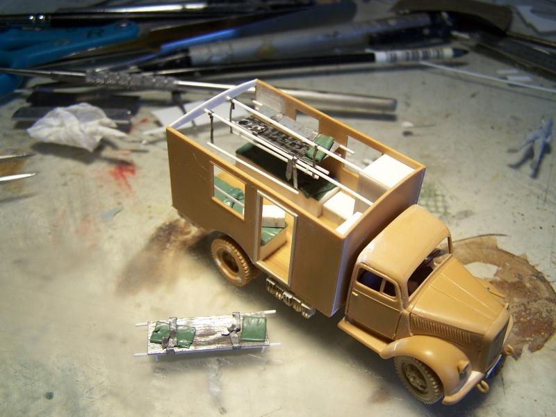 Opel Blitz Ambulance Normandie été 1944 5527291005857