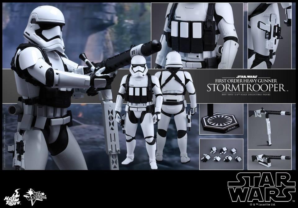 HOT TOYS - SW7: TFA - First Order Heavy Gunner Stormtrooper 553294115