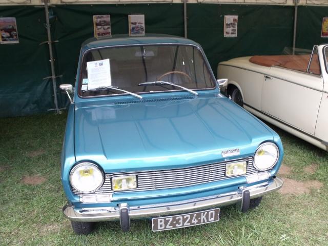 23e rassemblement de véhicules anciens et d'exception de Verna (38) - 2013 5536658Simca1100