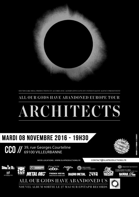 8.11 ARCHITECTS + STICK TO YOUR GUNS + BURY TOMORROW @ CCO Lyon 554556ArchitectsAdmatLyon1