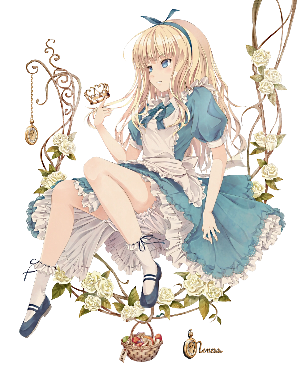Render anime girl 556010aliceinwonderlandmontrerenderCopie