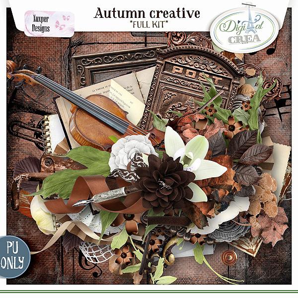 Collection Autumn creative de Xuxper Designs + Promo 556323271