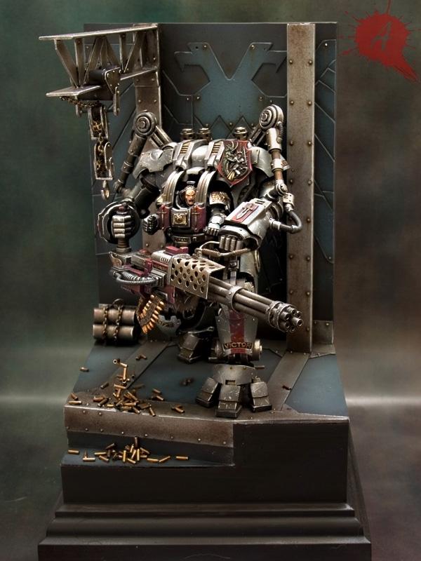 "Grey Knights Nemesis Dreadknight by Javier González ""Arsies"" 556398NemesisDreadknight1"
