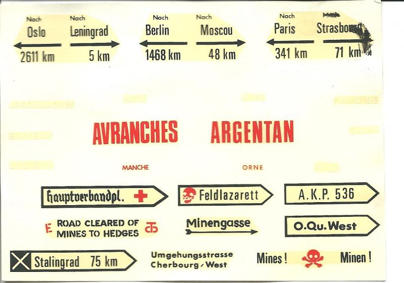 Equipement de Combat (Réf.140) Murs de Pierre & Signalisation 1/35 556952Heller140EDCMursdepierre004
