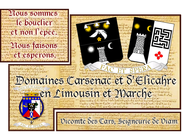 Famille Carsenac et de Rumet-Carsenac