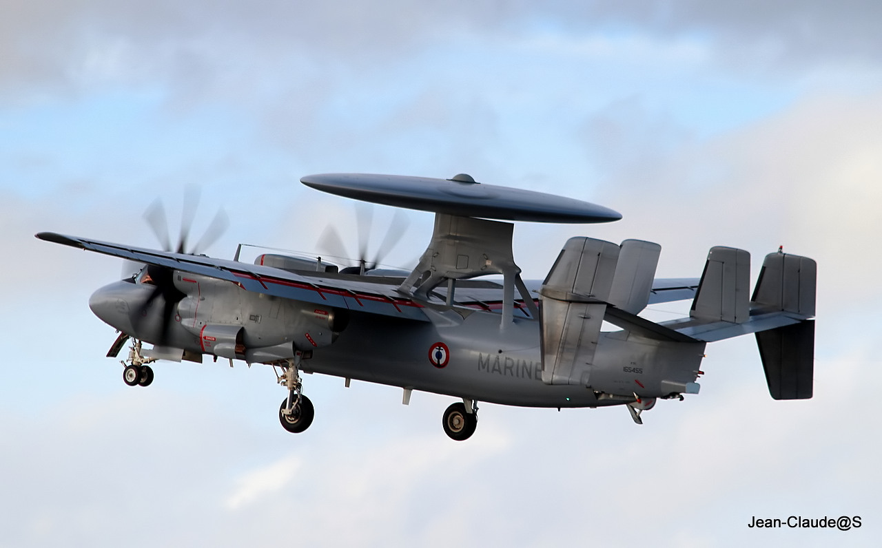 Grumman Hawkeye EC-2 Marine Nationale le 22.11.12 558638IMG9435filtered