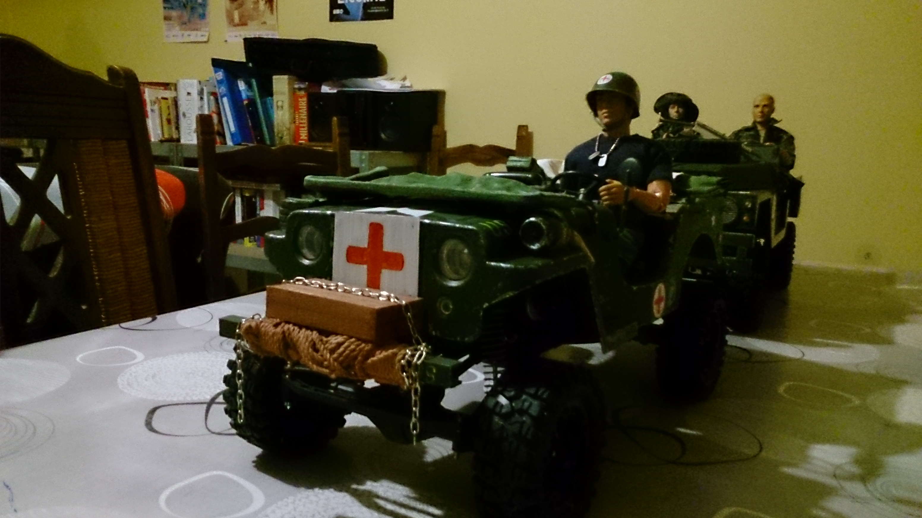 Jeep willys médicale usmc pacific 558808DSC1247