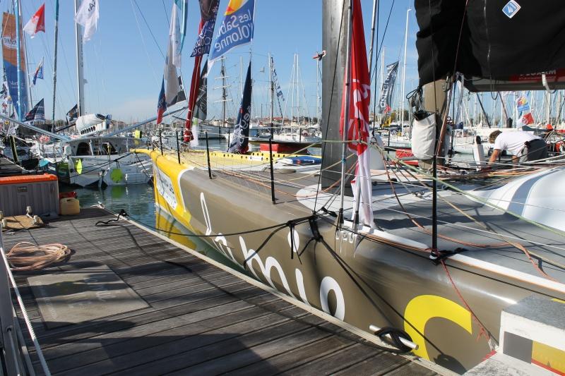 Visite du village et du ponton du Vendée Globe le 25/10/16 559187IMG4485