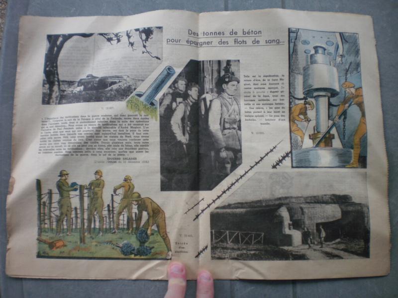 """Brochure Le Pèlerin 1940 Ligne Maginot """"On ne passe pas"""" (DERNIERE BAISSE DU PRIX) - ESC 1 Vendue 560232P2061535"""